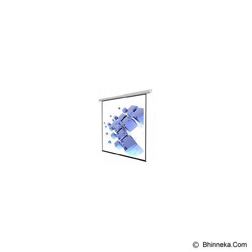 SCREENVIEW Motorized Wall Screen [3030RL] - Proyektor Screen Motorize